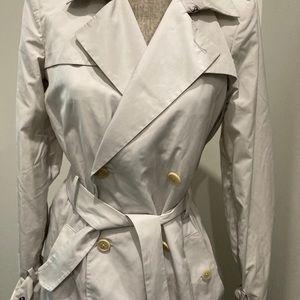 Diesel Cream long trench coat